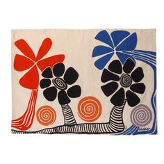 """Alexander Calder """"Flowers"""" Aubusson Tapestry 