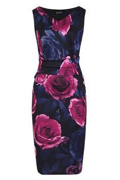Černé šaty s velkými růžemi Lady V London Jocelyn Dresses For Work, Formal Dresses, Lady V, Different Styles, Take That, Brand New, London, Model, Fashion