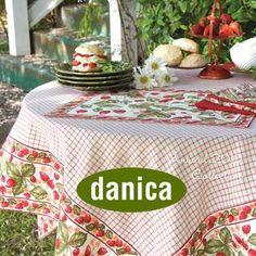 Danica Linens #JillsTable Stables, Linens, Tableware, Shopping, Bedding, Dinnerware, Horse Stables, Bed Linen, Dishes