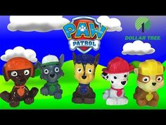Join The Paw Patrol Gang Chase ~ Marshall ~ Rubble ~ Zuma ~ Rocky ~ At The Dollar Store - YouTube