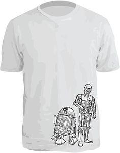 STAR WARS T-SHIRT NEW! R2-D2 & C3PO SHIRT! Only $12.95 on eBay