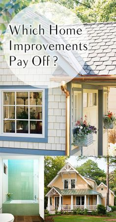Which Home Improvements Pay Off