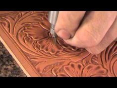 The Power Mallet - Background & Finish Knife (Leather Tooling) - YouTube
