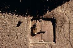 Africa   Granary door.  Dogon Country, Mali   Image ©Michel Renaudeau