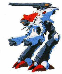 Robotech - Zentraedi Officer's Battlepod.