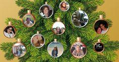 Quais dos seus amigos estão decorando a sua árvore de Natal?