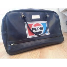 a92eaaabbe1 70s Unisex Vintage Pepsi Retro Sports Bag Holdall Excellent Condition Rare  Piece. £50.00,