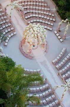 New ideas wedding seating ideas ceremony events Wedding Ceremony Seating, Wedding Ceremony Decorations, Wedding Ceremonies, Aisle Decorations, Circle Wedding Seating, Bride To Be Decorations, Wedding Aisles, Reception Seating, Wedding Mandap