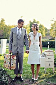 cute lace wedding dress