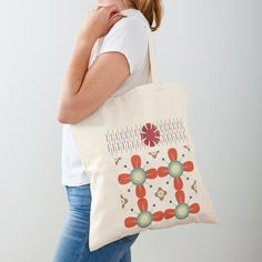 Cotton Tote Bags, Reusable Tote Bags, Poplin Fabric, Shopping Bag, Shoulder Strap, Patterns, Printed, Awesome, People
