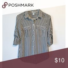 H&M shirt size: 4 New without tag, Size:4 , quarter sleeves H&M Tops Blouses