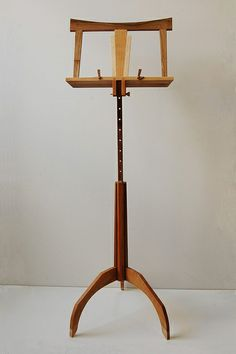 cherry maple and walnut music stand | Flickr - Photo Sharing!