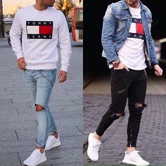 1 or 2❓Which one? Follow @mensfashionairy Supernatural Style | https://styletrendsblog.blogspot.com/