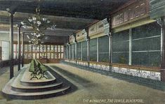 Annes on the Sea Lancashire - Local History - Blackpool Tower Menagerie 1904 Blackpool Uk, The Pancake House, Billiard Room, Ballrooms, Local History, Beach Hotels, Winter Garden, Old Pictures