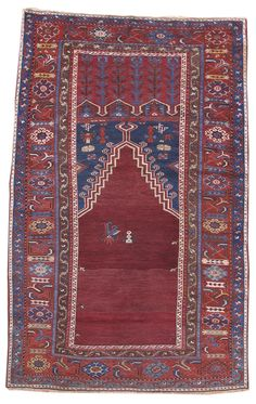 Ladik Prayer Rug, mid 19th C.