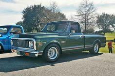 Green 67-72 chevy truck ° ~ °