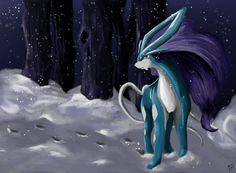 Suicune by ~BloodyButterfly-wp on deviantART
