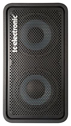 TC+Electronic+RS+210+Bass+Cabinet+with+2×10+Woofers+Plus+1+Tweeter+Rated+400W+at+8+Ohms