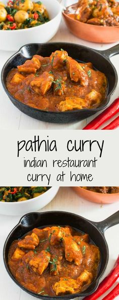 Restaurant style pathia curry brings together hot, sweet and sour in a classic Indian dish. Curry Recipes, Veggie Recipes, Indian Food Recipes, Asian Recipes, New Recipes, Chicken Recipes, Dinner Recipes, Cooking Recipes, Favorite Recipes