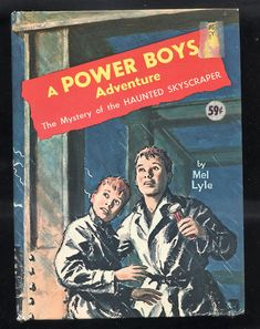 A Power Boys Adventure  Mystery of the Haunted Skyscraper  Whitman-1964 Mel Lyle