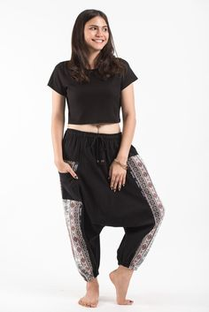 Elephant Aztec Cotton Harem Pants come with 2 perfect side pockets. They offer comfort and stylish look. Great for any occasion. Measurement: Waist: Hip: up to Length: Cotton Harem Pants, Elephant Pants, Granny Panties, Satin Lingerie, Aztec, Capri Pants, Stylish, How To Wear, Collection