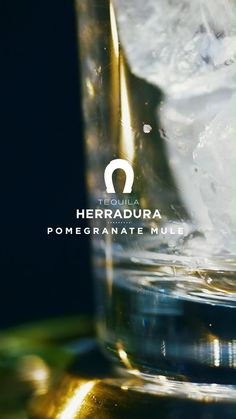 Craft the classic Pomegranate Mule made with the world's most gold medal awarded tequila. 1/2 part fresh lime juice 1 part pomegranate juice 2 parts Tequila Herradura silver 3 parts ginger beer Salud! #TequilaHerradura