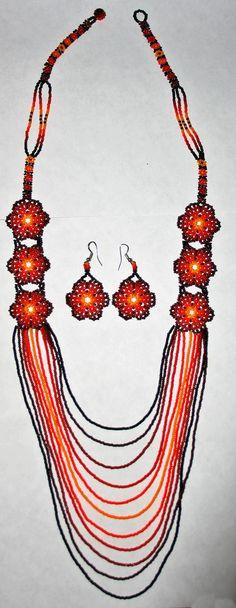 https://www.etsy.com/listing/205666865/beaded-necklace-earings-set-beadwork?utm_source=Pinterest