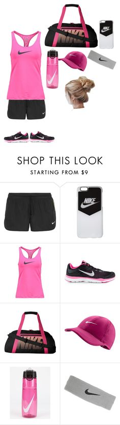 """""""Nike✔️"""" by cats225 ❤ liked on Polyvore featuring NIKE"""