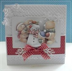 Ali Watson Creations : It's Beginning to Look A Lot Like Christmas Christmas Cards To Make, Xmas Cards, Winter Christmas, Handmade Christmas, Christmas Crafts, Forever Friends Cards, 3d Cards, Pretty Cards, Christmas Inspiration