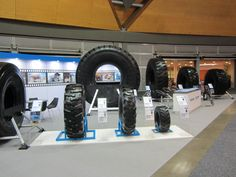 Tires on show at AIMEX #Maxam #MaxamTire #Tire #Tyre #Tires #Show #AIMEX #Sydney #Australia #Stamford #Exhibition #OTR #Solid #Pneumatics #Industrial #Construction #Mining #Smooth #Running