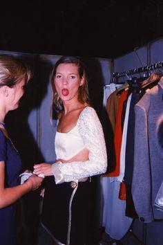 Kate Moss, 1990.