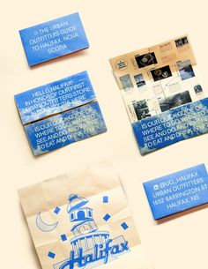 A series of city guides created for cities where new Urban Outfitters' open up.