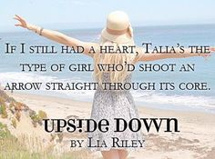 BOOK BLITZ | UPSIDE DOWN (Off the Map #1) by Lia Riley ~ Excerpt, + Giveaway! http://wp.me/p3jXgm-1xe