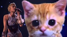 Kitten And Miley Cyrus' Wrecking Ball Performance At The American Music Awards Miley Cyrus, Soul Music, My Music, American Music Awards, Greatest Songs, Kinds Of Music, Music Artists, Pop Culture, Music Videos