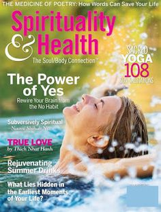 $4.99 a year for Spirituality & Health Magazine. Sassy Sahm