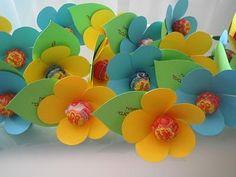 fleurs en sucette