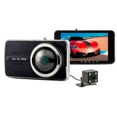 Quality Y900 Car DVR Novatek 96658 Dual Lens 4.0inch H.264 Full HD 1080P Dash Cam Video Recorder Dashboard Camera Blackbox 5842