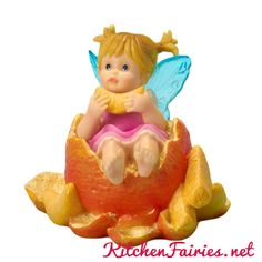 Tangerine Fairie - From Series Thirty Three of the My Little Kitchen Fairies collection
