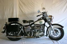 http://vintage Harley Davidson photo | Harley Davidson Police Special - MidAmerica Auctions