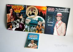 DOCTOR WHO and the VISITATION + 3x 1980s Annuals & K9 5th Doctor and The Making of a Television Series by UpStagedVintage on Etsy