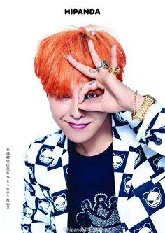 G-Dragon for HI PANDA