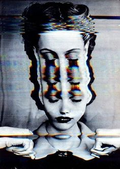 Glitch, collages and manipulated art Glitch Art, Psychedelic Art, Images Pop Art, Bad Trip, Photocollage, Arte Horror, Grafik Design, Art Inspo, Art Photography