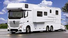 Autocaravanas de súper lujo, más de 500.000 euros sobre ruedas