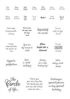 Sentiments - Circle 1