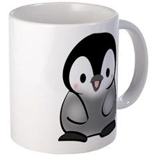 Adorable Baby Penguin Mug