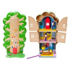 Ben and Holly's Little Kingdom Magical Elf Tree Playset: Amazon.co.uk: Toys & Games