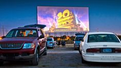 The Tascosa Drive-In Theater is perfect for a summer date night or family evening out.