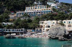 Marina Piccola, Capri, Itália eleita uma das melhores do mundo