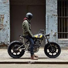 "rhubarbes: "" via Biltwell Inc. More motorcycle lifestyle. "" Find amazing custom bikes HERE"