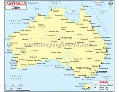 Buy Australia Map with Cities online from store mapsofworld available in AI, EPS, JPG and PDF format. Australia Country, Australia Map, Country Maps, State Map, Digital, City, Stuff To Buy, Geography, Map Of Australia